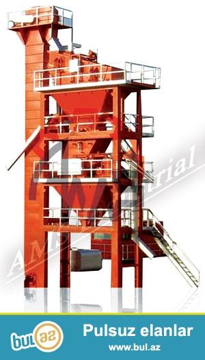 Стационарные и мобильные асфальтовые заводы изготовленные в компании АМС производительностью от 60 т до 240 т в час имеет сертификаты Качество международного стандарта ISO 9001...