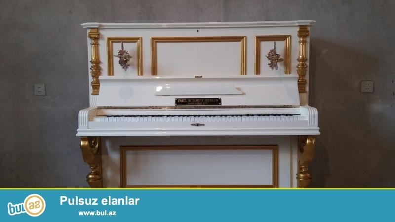 Xarici və Sovet Pianolari satişi.Əla ideal və köklənilmiş vəziyyatdə...
