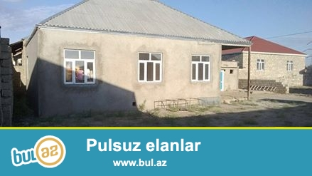 Sabuncu rayonu,Savxoz Ramani<br /> 7-Sotun icinde <br /> olcusu 13 x 10<br /> 3 otaq<br /> 1 zal hamam tualet...