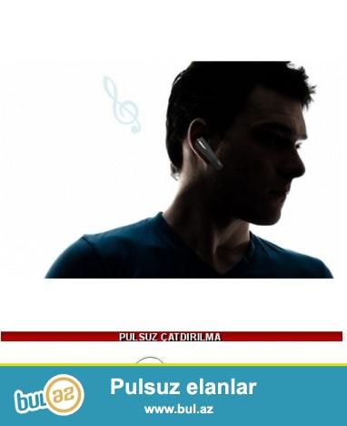 Ağ Bluetooth Qulaqlıq-İndi 29 azn