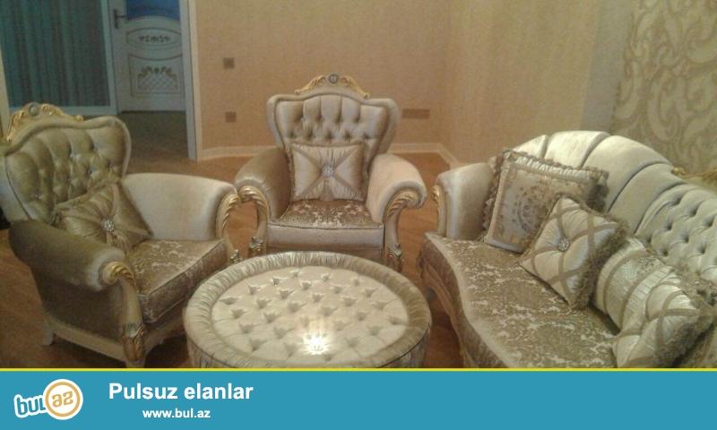 Tecili alindigi qiymetden yari qiymete Turkiye istehsali olan yuksek keyfiyyetli mebel satiram.