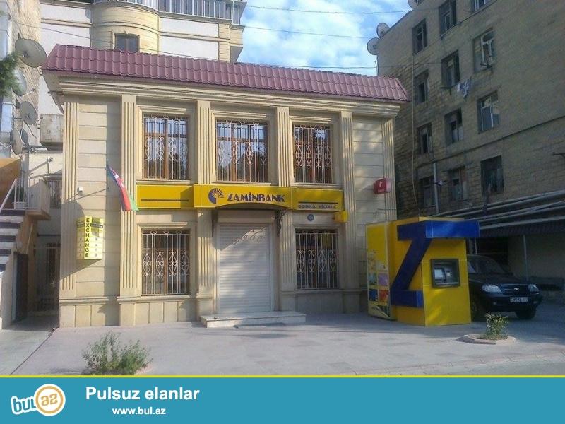 Nərimanov rayonu Fətəli Xan Xoyski prospekti,128A ünvanında yerləşən ümumi sahəsi 230 KV metr qeyri-yaşayış sahəsi uzun müddətdir ki, Zamin bank olub...