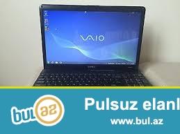 SONY VAIO PCG-71318L satilir, yaxsi veziyyetde<br /> Cpu : Core i3 - 2...