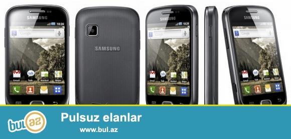 Galaxy Fit GT S5670  satıram.<br /> Telefon yaxşı vəziyyətdi...