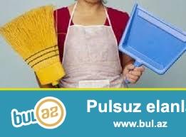 Evlerde temizlik isleri goruruk temirden cixmis evlerin villalarin temizlenmes