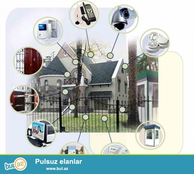 VİP Electronics obyektlərin və evlərin mühafizəsi üçün müasir siqnalizasiya sistemini təklif edir...