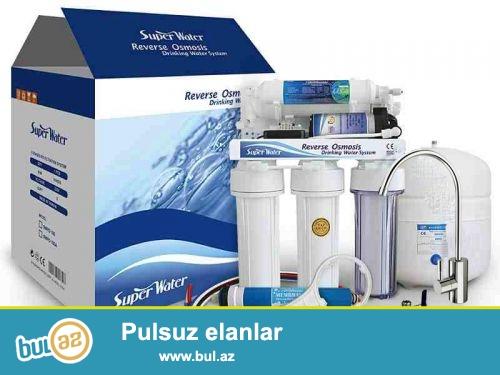 su filterlerinin temiri icliklerinin deyisdirilmesi qosulmasi ve s.