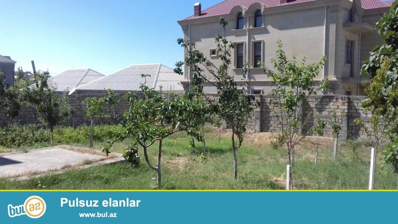 Abseron rayonu   Sulutepe  qesebesi Hokumeli dairesine yaxin erazide 10 sotda 3 mertebeli  9 otaq,3 metbex,3san qovsagi...