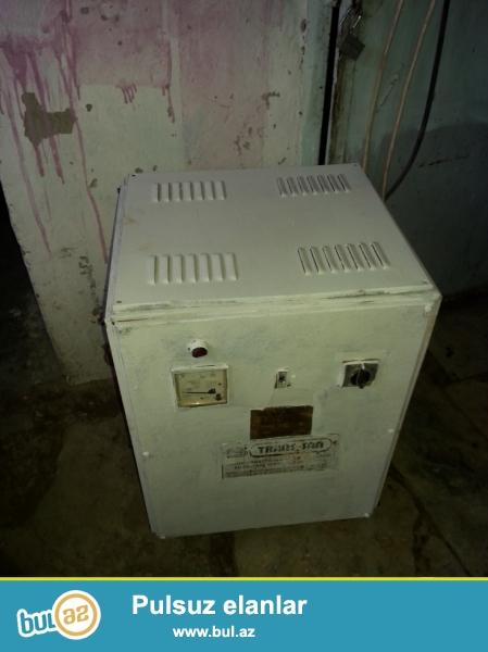 Türkiyə istehsalı olan orjinal  voltaj stablizatoru...