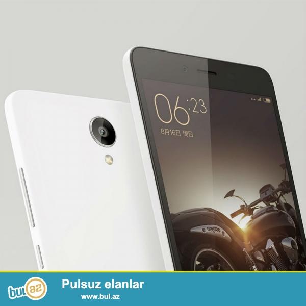 Sərfəli qiymətə 13 və 5 meqapiksel kameraları olan dünya səviyyəli brend smartfon Xiaomi Redmi Note 2 FDD versiya satılır ...
