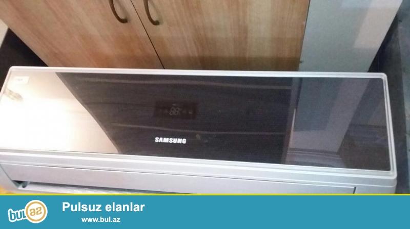 Samsung kondisioneri qara suseli 12.000BTU 40-45 kv 6 ay zemanet verilir qurasdirma daxil olmaqla 480 azn bu nomrenen elage saxlayin 0552830304