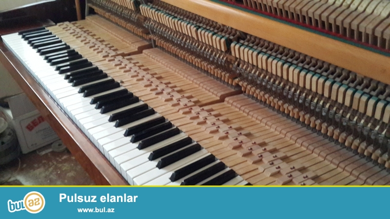 Almaniya, Cexiya, Polsha,Rusiya istehsali olan pianino ve royallari markasindan, veziyetinden asli olarag muxtelif giymete aliram...