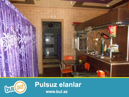 **РУФАТ*АЙНУР** Qara Qarayev metrosunun yaxinliqinda avadanliqlari  ile  birlikde   obyekt  satilir...