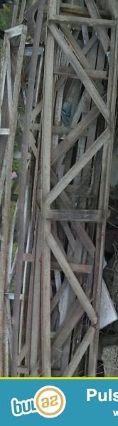 ŞəhərBakı<br /> Malın növüPəncərələr, qapılar, eyvanlar<br /> Boyuk fermalar: uzunluq 12 m, hundurluk 0,75 sm, boyuk fermanin 1 ededinin qiymeti 200 azn'dir...