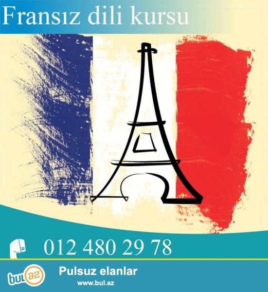 Tedris Merkezi Sizi yüksək keyfiyyətli Fransiz dili kurslarına dəvət edir...