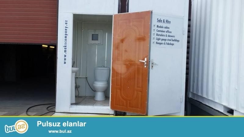 Biotualet l və duş kabinalarınin satışı və kirayəsi...