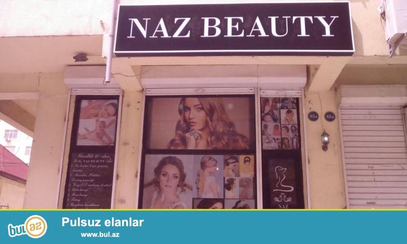 Naz Beauty gozellik salonuna sac ustasi stilis vizajis manikur pedikur ustasi teleb olunur