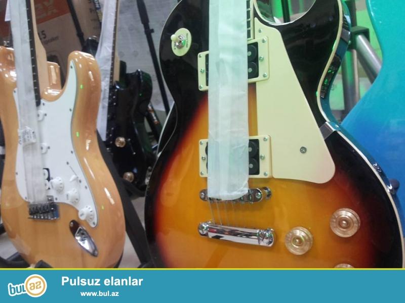 Ibanes Fender ESP Gibson kimi mehsur brend firmalara mexsus elektro ve Bass gitaralar...