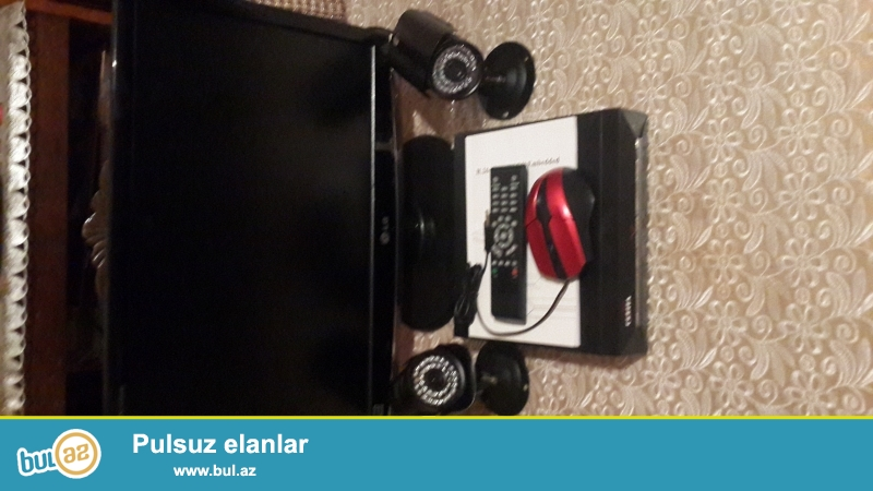 LG Monitor. 2 Orbita Kamera. Tecili Satilir.