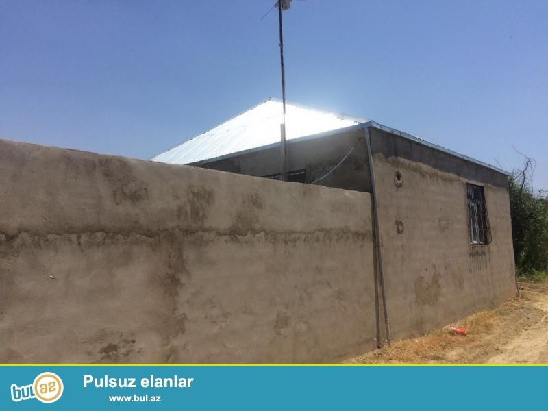 Срочно!  В  посёлке Новханы   продаётся 1-а этажный новопостроенный  3-х комнатный особняк площадью 100 кв2 ...
