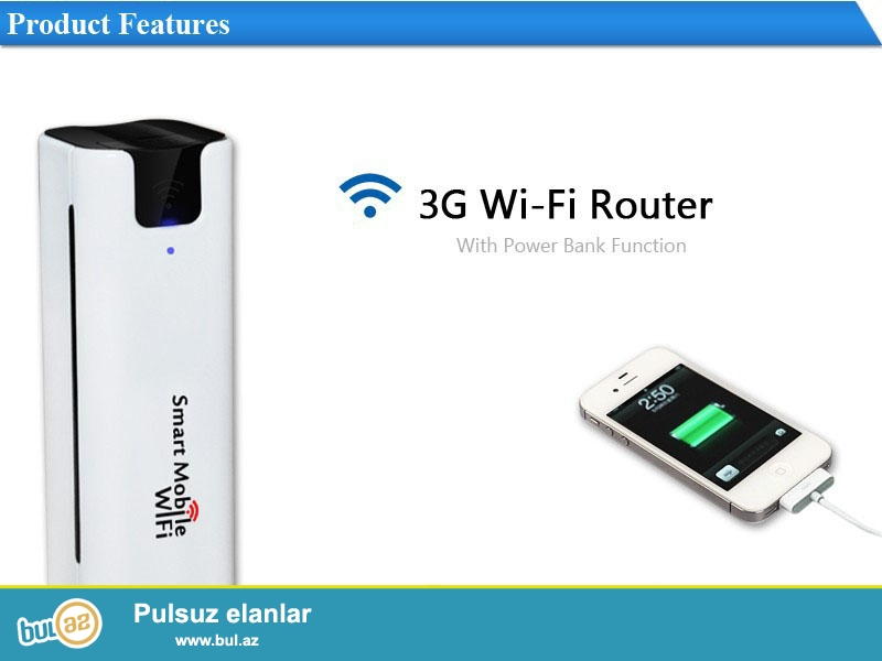 Yeni.Çatdırılma pulsuz<br /> <br />     Modem funksiyası ilə: Bəli<br />          Firewall: Bəli<br />          WPS dəstəkləyir: Bəli<br />          Növ: Wireless<br />          Wi-Fi Transmission Rate: 150 Mbps<br />          VPN: Bəli<br />          Paket: Bəli<br />          Wi-Fi Transmission Standard: 802...