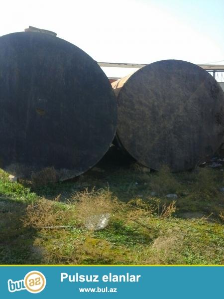 Hundurluk 275 sm <br /> Uzunluq 400 sm <br /> Hecimi 25000 litr <br /> Bakin 1 ededi 2000 azn <br /> Qiymeti razilashma yolu ile...