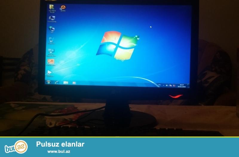 Təcili Masaüstü kompüter Satılır. <br /> Kompüter ofis və montaj işi üçün istifadə olunub...