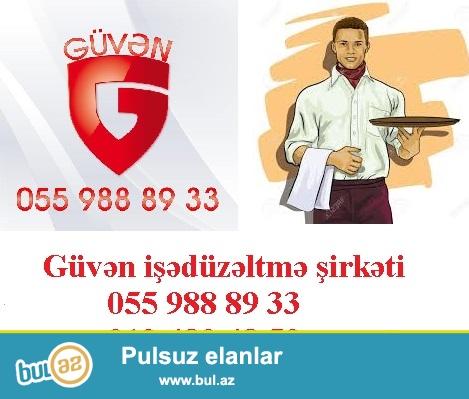 13.Ofisiant vakansiyasi 055 988 89 33<br /> <br /> Ofisiant teleb olunur...