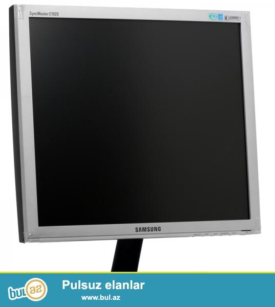 Manitor Samsung 19 ekran<br /> <br /> Hard Disk 500 GB(Seagate)<br /> <br /> RAM 1GB(DDR2)<br /> <br /> DVD RW<br /> <br /> Isteyen olsa elaqe yaratsin  0554772087(whatsapp)