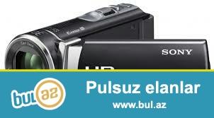 Esil seyahet ucun video kamerasi Full HD Slayd sou...