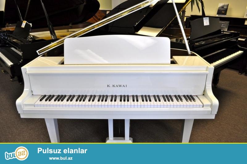 Ağ, şabalıdı, qırmızı ağac ve s. renglerde - çex, alman ve rus markaları müxtelif modellerde pianolar satılır...
