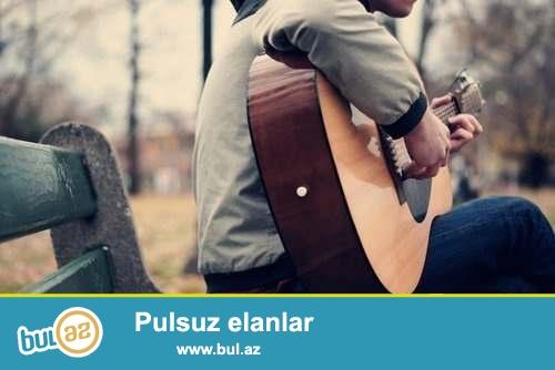 DAO Tədris Mərkəzi sizə peşəkar Gitar kursları təqdim edir...