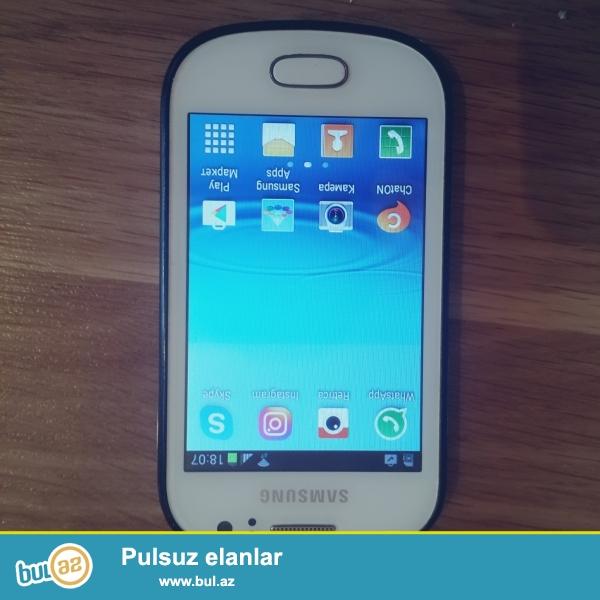 Samsung Galaxy GT-S6810<br /> Ön ve Arxa Kamera,Vspişka Whatsap,Skaype,İnstagram,Retrica ve s...