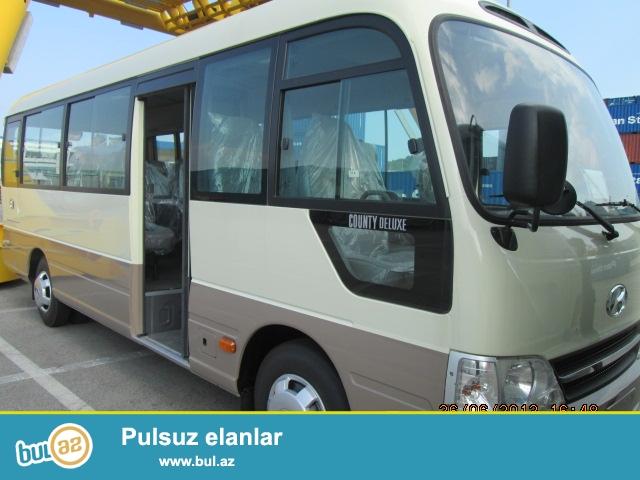 sifaris qebul olunur 27 neferlik HYUNDAI COUNTY avtobus kandisaner ve ela salon ...