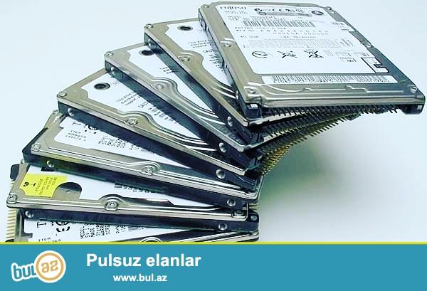 Noutbuk ucun 1 TB hard disk  qiymeti: 75 manat<br /> elaqe nomresi: 050 443 55 45 (whatsapp)