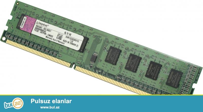 Ram DDR3 2gb TECILI!!! 3 eded satiram,. 3u bir yerde cemi 40 manata<br /> fantastik qiymetdi, ashagi zad demiyin xahish edirem<br />