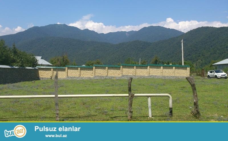 Bakı - Qəbələ avtomagistralı üzərində, Vəndam qəsəbəsində, kommunal infrastrukturu, kupçası var
