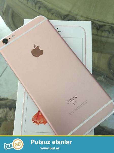 Apple iPhone 6с plus 64Gb çəhrayı qızıl əla vəziyyətdədir, gəlir ilə 12 ay beynəlxalq zəmanət və qaytarılması 90 gün...