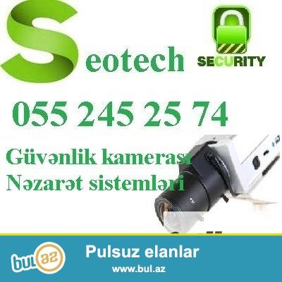 Alarm sistemi   <br /> <br /> Seotech  shirketi Sizin tehlukesizliyinizi dushunerek teqdim edir:<br /> Alarm sistemleri:Alarm sistemi Sizin emlakinizin, bag evinizin, maqazinizin, anbarinizin, qarajinizin, ticaret merkezinin, evinizin ve s...