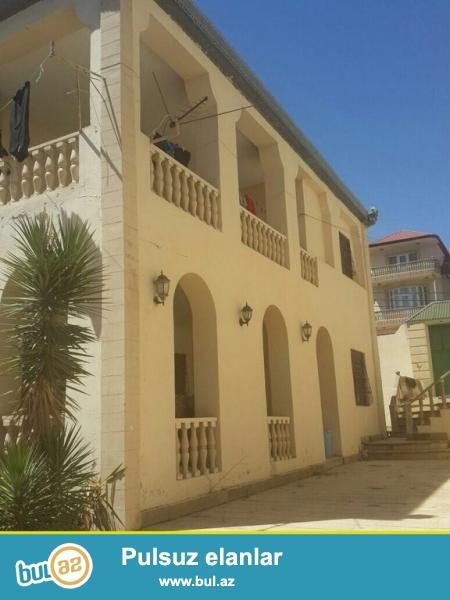 Очень срочно! В первом жилом массиве Бадамдар  рядом с д/т  *Гелин Гая* ,  продаются    2-х этажных  ,7 комнатных  вилл,  площадь  450  квадрат расположенных  на  8 (9...