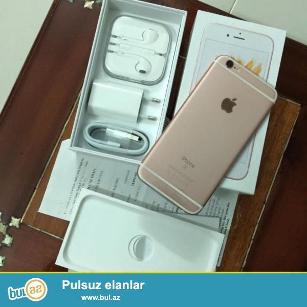 Etmişlər Apple iPhone 6с 64 GB çəhrayı qızıl əla vəziyyətdədir, gəlir ilə 12 ay beynəlxalq zəmanət və qaytarılması 90 gün...