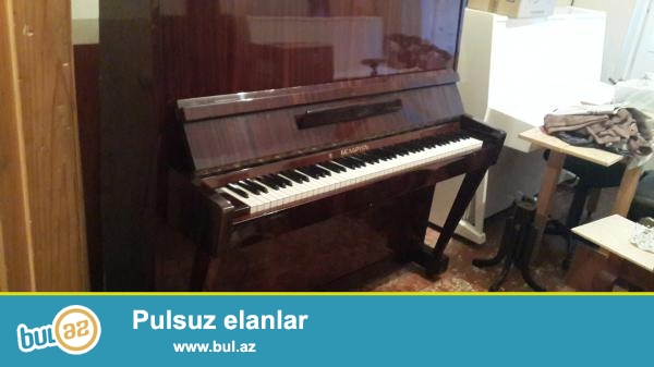 Pianino ustasiyam, genish secimde, ela veziyetde, istifade olunmamish ve cox az istifade olunmush pianinolarin satishi, profesional tar, royal uzun muddetli zemanetle...