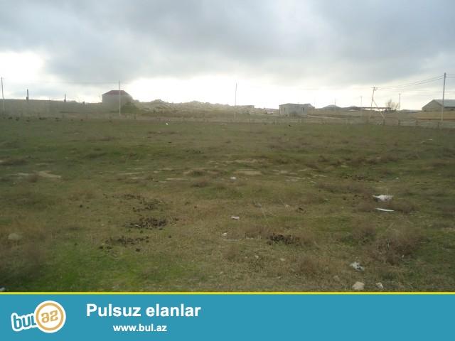 Sabunçu rayonu Məhəmmədi qəsəbəsi, məktəbə 500 metr məsafədə 2 sot torpaq sahəsi satılır...