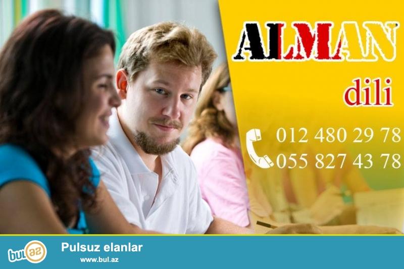 Inkishaf Tedris Merkezi Sizi yüksək keyfiyyətli Alman dili kurslarına dəvət edir...