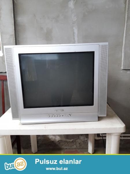 Samsung 54 dioqanal televizor satılır. <br /> Yaxşı vəziyyətdədir...