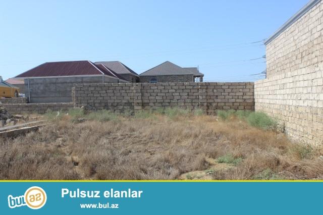 Sabunçu rayonu Zabrat 2 qəsəbəsi, Tranvay küçəsi, 307 nömrəli məktəbin yaxınlığında, 4 tərəfi hasarlanmış 2 sot torpaq sahəsi satılır...
