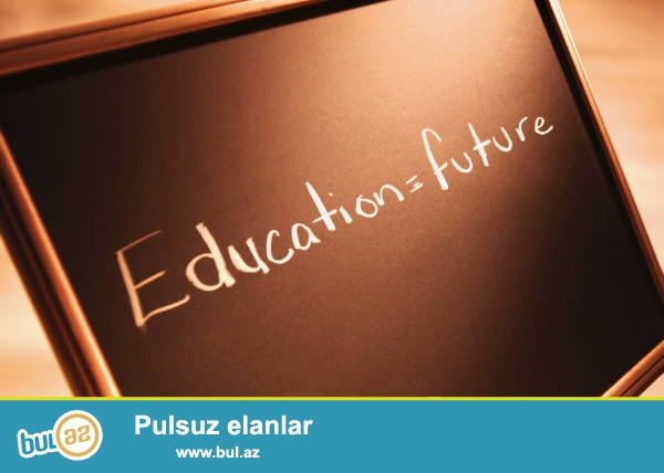 Men Khazar University Ingilis ve Ereb dili fakultesinden mezunam, bu Amerikada 6 aylig tezlesdirilmish kurs kecmisem...