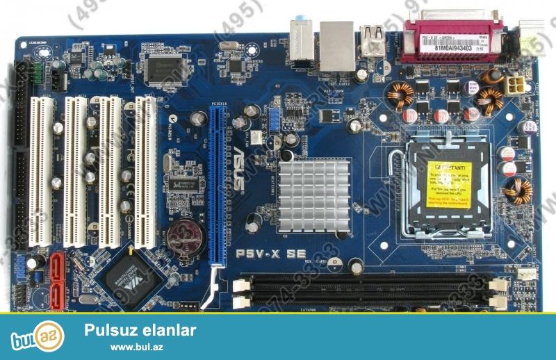 Asus P5V-X SE DDR2 soccet lga 775