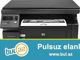 3-1 de(printer skaner kseroks) ishlenmish printerdi katrici boshdu