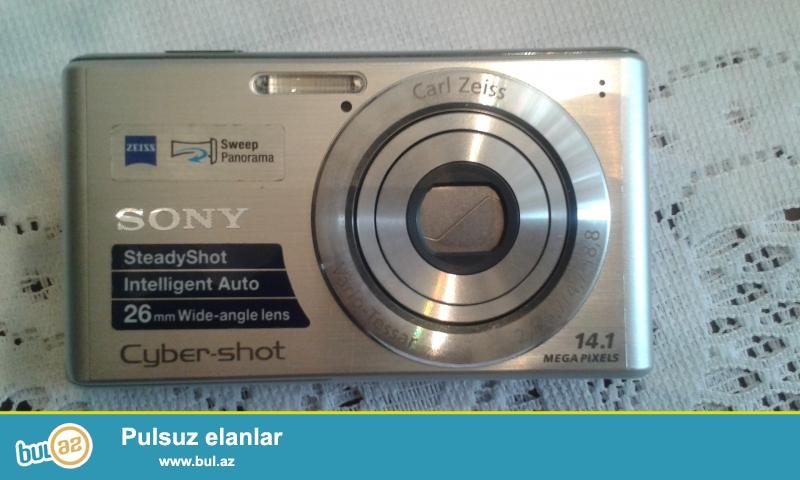 Ela veziyyetde Sony Cyber-shot DSC-W530 markali fotoaparat/kamera satilir...